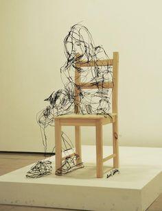 Wire 3D Sculptures
