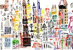 city collage City Collage, Illustration Artists