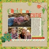 A Project by miracles_momma from our Scrapbooking Gallery originally submitted 12/06/12 at 10:10 PM