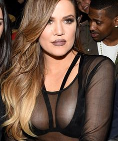 Khloe Kardashian flaunts an insane amount of cleavage during NYFW! | toofab.com