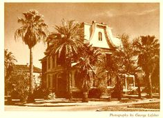 Seinsheimer House – 2425 Avenue K Built: 1849 Demolished Site use today: Office building – built in 1978 Galveston Texas, Galveston Island, Old Photos, Vintage Photos, Colouring Pics, History Timeline, Southern Style, Storms, Interiores Design