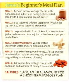 Meal Plan (again)