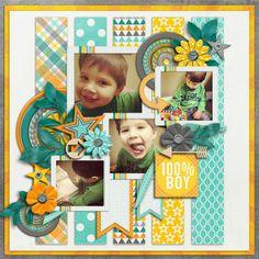 Sweet Shoppe Designs::Digital Scrap Kits::Oh Boy by Melissa Bennett