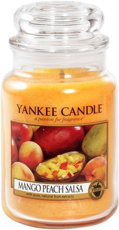 Yankee Candle Grande bougie Mango peach salsa 623 G bougie parfumée