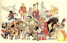 616 Marvel by Dustin Nguyen
