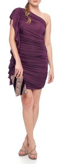vestido tufi roxeou - vestidos de festa tufi duek