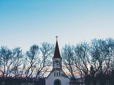 Graveyards and locked churches snow capped mountains painted with a sunset and the cutest Cafe in Iceland.  http://ift.tt/1YS5v09