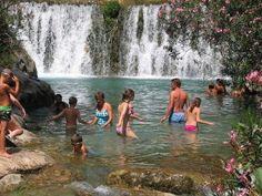 Watervallen van Algar