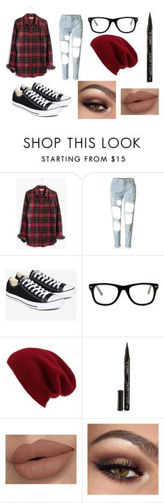 """""""Untitled #53"""" by charlotteupshaw on Polyvore featuring Madewell, WithChic, Converse, Muse, Halogen and Smith & Cult"""