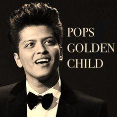 Bruno Mars POPS GOLDEN CHILD