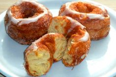 Zitronen Mascarpone-Schnitten - 1k Rezepte Zucchini Puffer, Onion Rings, Doughnut, Dips, Clean Eating, Breakfast, Healthy, Ethnic Recipes, Food