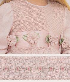 Double Delight, by Julie Graue. Australian Smocking & Embroidery, Issue #89.