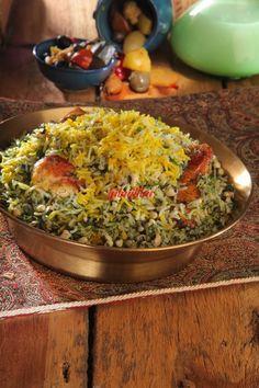 دمی چشم بلبلی با شبت (شیراز) - آشپزی و شیرینی پزی سانازسانیا
