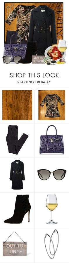 """""""My outfit Nov 1"""" by doozer ❤ liked on Polyvore featuring White House Black Market, H&M, MICHAEL Michael Kors, ALDO, Bormioli Rocco, Garden Trading and Mystic Light"""