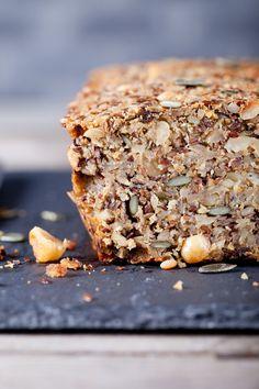 Зерновой хлеб Bread Recipes, Vegan Recipes, Cooking Recipes, Keto Bread, Bread Baking, Low Carb Diet, Dessert Recipes, Desserts, Banana Bread