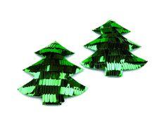 Tannenbaum aus Pailetten, Weihnachtsschmuck // sequin christmas tree via DaWanda.com