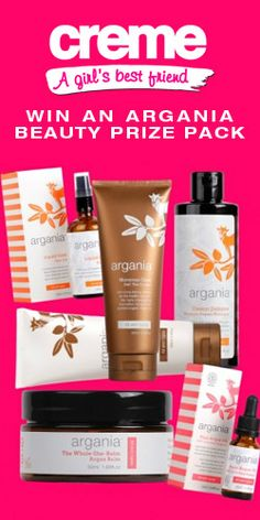 Win an #Argania #Beauty #Cosmetics #Prize Pack! #Competition