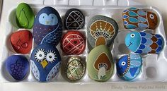 5 Easy and Colorful Rock Painting Ideas from RockArt!