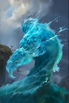 the POTAMOI/Potami - the gods of the rivers and streams of the earth; sons of  Oceanos and Tethys, and brothers of the Oceanides (goddesses of streams, clouds and rain); fathers of the Naiades (nymphs of fresh - water springs)