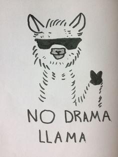 No Drama Llama @AlvaTeasdale