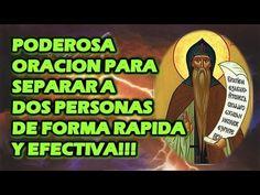 PODEROSA ORACION PARA SEPARAR A DOS PERSONAS DE FORMA RAPIDA Y EFECTIVA!!! - YouTube