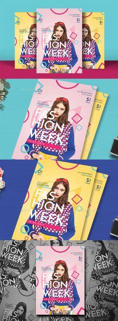 Pop Fashion Flyer