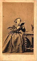 Condessa de Barral - Luísa Margarida de Barros Portugal, já idosa.