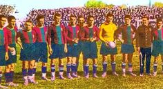 EQUIPOS DE FÚTBOL: BARCELONA en la década de 1920
