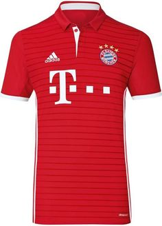 57bc9338f The Bayern München home kit combines traditional style with modern elements.