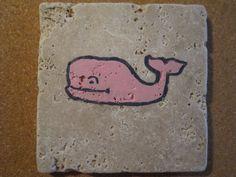 Pink Whale - dmc designs