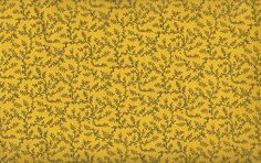 """EOB Clearance, 41"""" Fabric, Yellow Floral Vine Fabric, Yellow Fabric, 02057"""