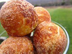 Sour Cream Ebelskiver Doughnuts