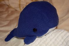 Whale Plushie  •  Free tutorial with pictures on how to make a whale plushie in under 120 minutes