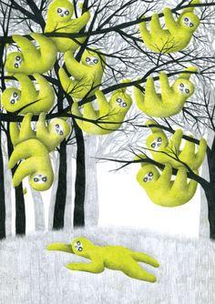 Sloths Julie Colombet