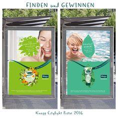 Kneipp Citylights Poster - ab 19.04. 2016 in Deutschland entdecken und gewinnen!