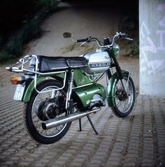 1980 Kreidler 04 Moped - Just need a sidecar and a boy, and then I can recreate Garden State!