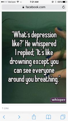 """...but you can talk yourself out of it. YOU are stronger than that! """"Just keep swimming...."""""""