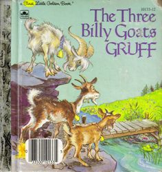 Vintage Children's Book The Three Billy Goats by sweetpeaspantry, $2.00