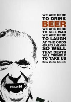 Henry Charles Bukowski (born Heinrich Karl Bukowski; August 16, 1920 – March 9, 1994) was a German-born American poet, novelist and short story writer. Description from imgarcade.com. I searched for this on bing.com/images