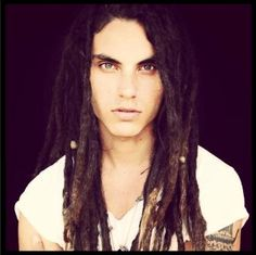 I don't know what it is about him...I don't normally like dreadlocks, but I think he's really hot. Samuel Larsen <3