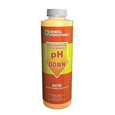 General Hydroponics pH Down  8 Oz ** Click image for more details. (This is an affiliate link) #GardeningandLawnCare