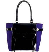 FOREVER Selected by Paula Abdul Hollywood Glam Colorblock Totebag