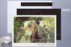 Vintage Polaroid Wedding Announcements by Minted. $1.82 ea.