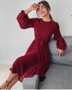 30 Beautiful and Modest Dresses for Elegant Ladies — Classy Outfit Ideas Elegant Outfit, Classy Dress, Classy Outfits, Casual Outfits, Elegant Dresses Classy, Modest Dresses, Simple Dresses, Pretty Dresses, Casual Dresses