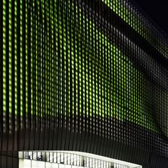 Galleria Centercity in Cheonan - media facade with 22,000 LED light points | Architecture at Stylepark