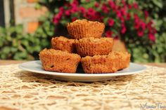 Owsiane muffinki z jabłkiem i cynamonem. Oatmeal muffins with apples and cinnamon. www.marciatime.pl