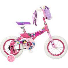 "Nickelodeon Dora the Explorer 12"" Girls' Bike  $74 walmart.com Emma's ""big"" Christmas gift"