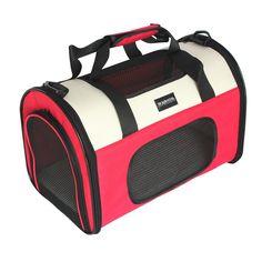 Hundetragetasche / Transportbox pink
