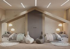 Small Room Design Bedroom, Modern Kids Bedroom, Teen Bedroom Designs, Kids Bedroom Furniture, Kids Room Design, Bed Design, Baby Bedroom, Baby Room Decor, Bedroom Decor