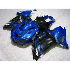 Kawasaki NINJA ZX14R 2006-2009 Injection ABS Fairing - Others - Blue/Black | $839.00